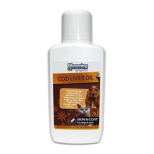 Cod Liver Oil -Csukamájolaj kutyáknak és macskáknak