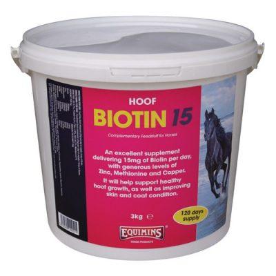 Biotin -15 mg / adag biotinnal