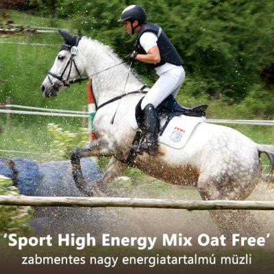'Sport High Energy Mix Oat Free' zabmentes nagy energiatartalmú müzli